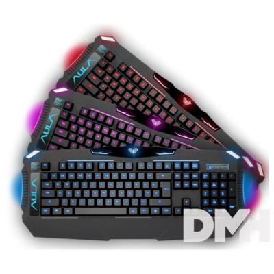 Aula Dragon Deep világító HUN gaming billentyűzet