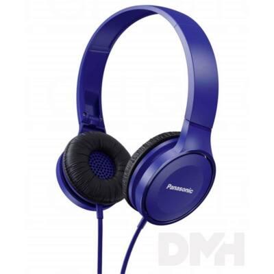 Panasonic RP-HF100ME-A kék mikrofonos fejhallgató