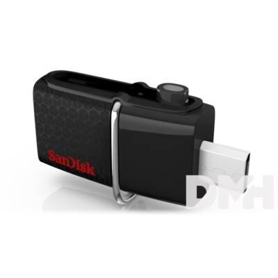 "Sandisk 32GB USB3.0/Micro USB ""Dual Drive"" Fekete-Ezüst (173348) Flash Drive"