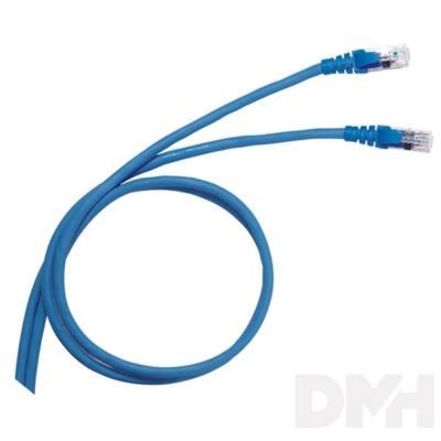 Legrand Cat6 (S/FTP) kék 1 méter LCS2 árnyékolt patch kábel