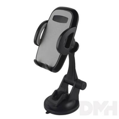 Max Mobile szürke autós telefon tartó