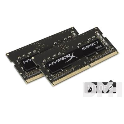Kingston 16GB/2133MHz DDR-4 HyperX Impact (Kit 2 db 8GB) (HX421S13IB2K2/16) notebook memória