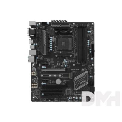 MSI B350 PC MATE AMD B350 SocketAM4 ATX alaplap