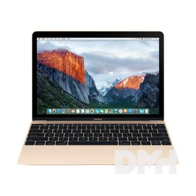 "Apple MacBook 12"" Retina/Intel Core m3 DC 1,2GHz/8GB/256GB/Intel HD 615/arany laptop"