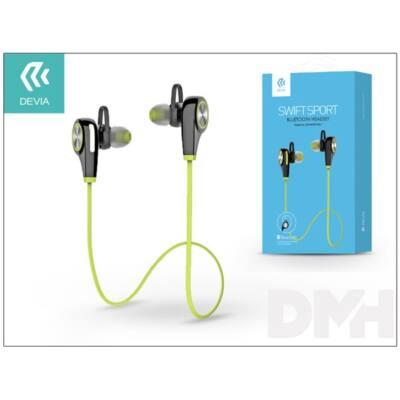 Devia ST991593 Swift Sport Bluetooth zöld headset