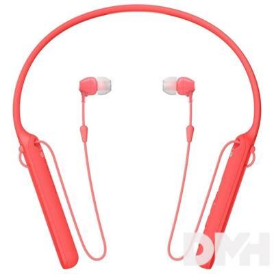 Sony WIC400 Bluetooth piros fülhallgató headset