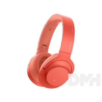 Sony WHH900 Hi-Res Bluetooth piros fejhallgató headset aptX