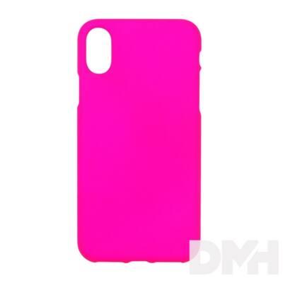 Cellect CEL-NEON-IPHX-P Neon Collection Prémium iPhone X rózsaszín hátlap