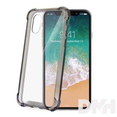 CELLY ARMOR900BK Celly iPhone X fekete keretű hátlap