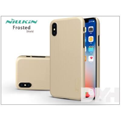 Nillkin NL146280 FR iPhone X arany hátlap képernyővédő fóliával