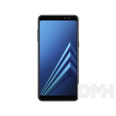 """Samsung Galaxy A8 SM-A530F 5,6"""" LTE 32GB Dual SIM fekete okostelefon"""