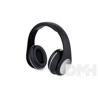 Genius HS-935BT összehajtható fekete mikrofonos bluetooth fejhallgató