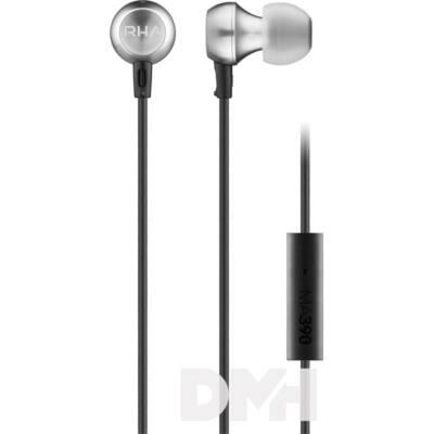 RHA MA390 fekete-ezüst fülhallgató headset