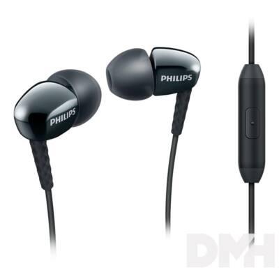 Philips SHE3905BK/00 fekete mikrofonos fülhallgató