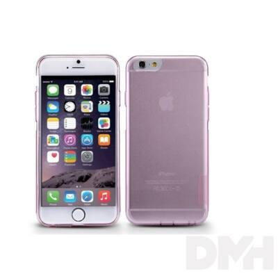 Nillkin NL290728 NATURE iPhone 6/6S rózsaszín vékony szilikon hátlap