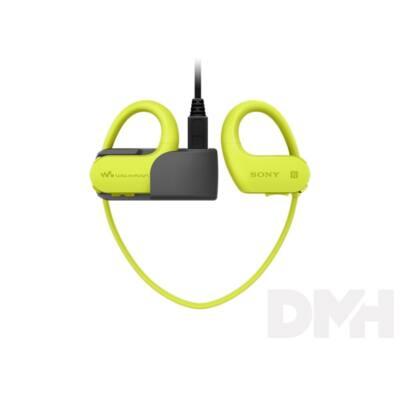 Sony NWWS623G Bluetooth zöld sport fülhallgató headset és 4GB MP3 lejátszó