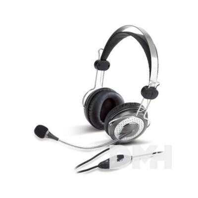 Genius HS-04SU jack ezüst headset