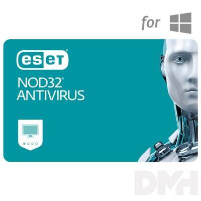 ESET NOD32 Antivírus hosszabbítás HUN 3 Felhasználó 1 év online vírusirtó szoftver