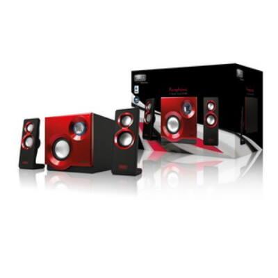 Sweex 60W Purephonic 2.1 hangszóró szett, piros