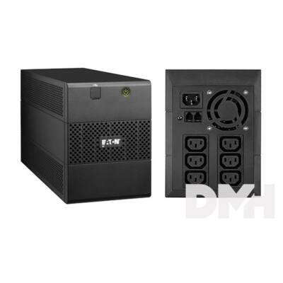 EATON 5E 2000iUSB 1200W fekete szünetmentes tápegység