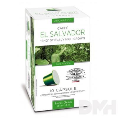 Compagnia Dell Arabica DEL156 El Salvador Single Origin Nespresso kompatibilis kapszula