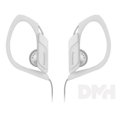 Panasonic RP-HS34E-W 3.5mm jack fehér-fekete clip on fülhallgató
