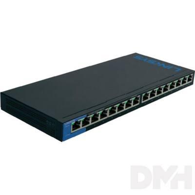 Linksys SMB LGS116 16port 10/100/1000Mbps LAN nem menedzselhető asztali Switch