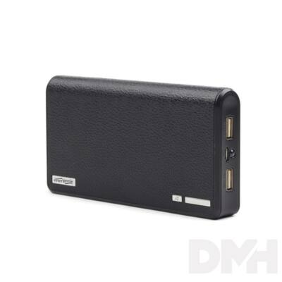 Energenie EG-PB12-01 12000mAh fekete power bank