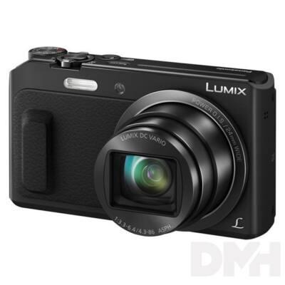 Panasonic DMC-TZ57EP-K fekete digitális fényképezőgép