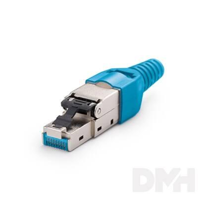 KE-Line FM45/s Szerszám nélkül közvetlenül szerelhető dugó Cat5E/Cat6/Cat6A és Cat7 kábelekhez
