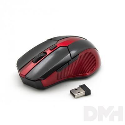 Sbox WM-9017BR fekete-piros vezeték nélküli egér