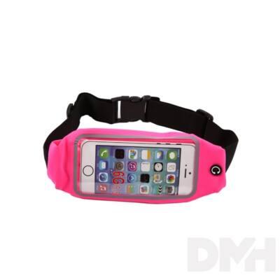 iTotal CM2917 pink univerzális telefontartó sportöv telefontároló rekesszel