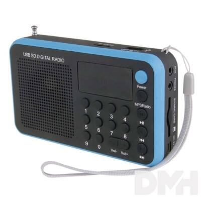 Emos E0063 kék USB rádió