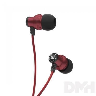 Brainwavz Delta In-Ear piros fülhallgató headset