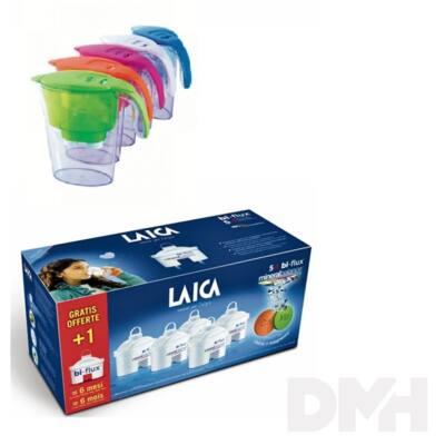 Laica M6M 5+1 db-os Mineral Balance vízszűrőbetét + ajándék kék Clear Line vízszűrő kancsó