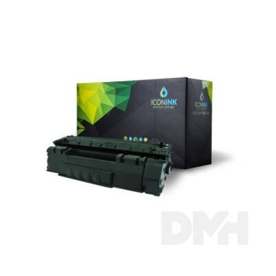 Iconink HP Q5949A Canon CRG-508 utángyártott 2500 oldal fekete toner
