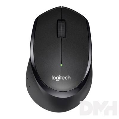 Logitech M330 Silent wless fekete egér