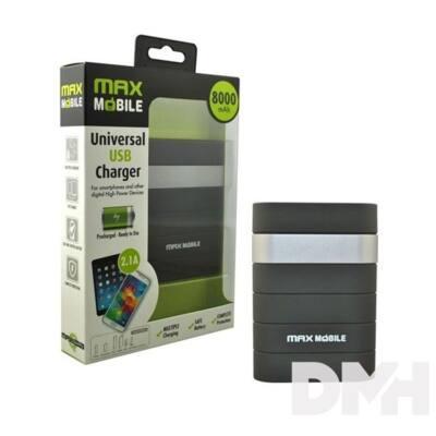 Max Mobile 8000mAh power bank