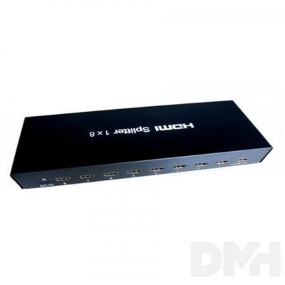 Sbox HDMI-8 8 portos 1.4 HDMI elosztó