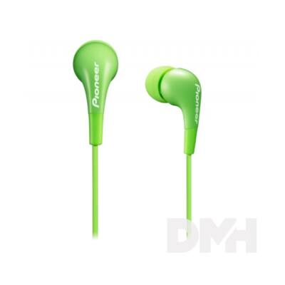 Pioneer SE-CL502-G zöld fülhallgató