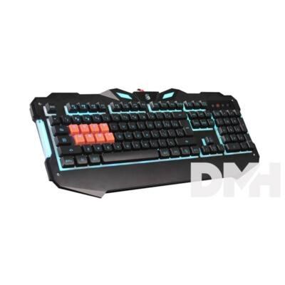 A4-Tech B328 Bloody USB LED fekete HUN mechanikus gamer billentyűzet