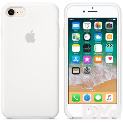 Apple iPhone 7/8 szilikontok fehér