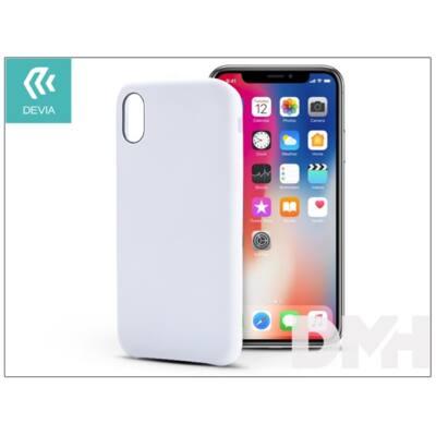 Devia ST305429 NATURE iPhone X fehér hátlap