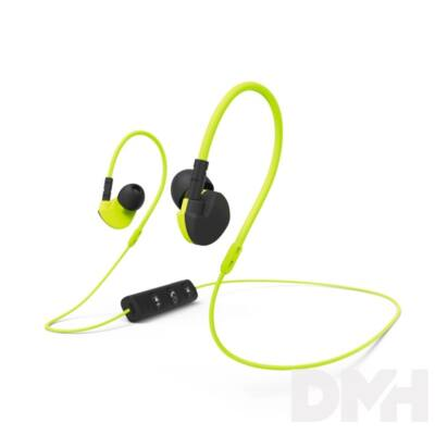 "Hama 177095 ""CLIP-ON"" Bluetooth sárga sport fülhallgató headset"