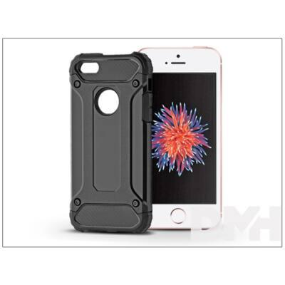 Haffner PT-4122 iPhone 5/5S/SE fekete ütésálló hátlap