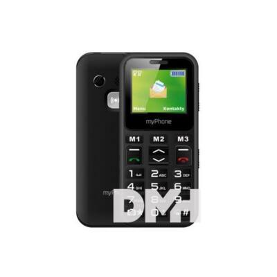 "myPhone Halo Mini 2 1,77"" fekete mobiltelefon"