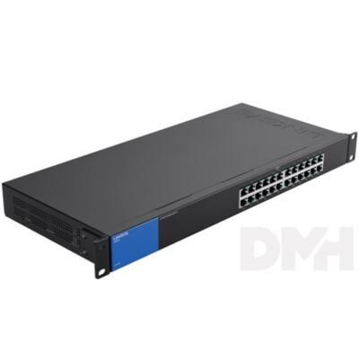 Linksys SMB LGS124 24port 10/100/1000Mbps LAN nem menedzselhető Switch