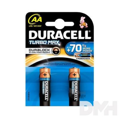 Duracell Turbo MAX 2 db AAA elem