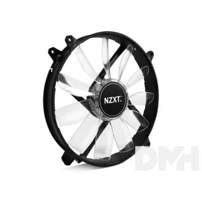 NZXT FZ 200mm fekete (fehér LED) ház hűtő