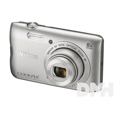 Nikon Coolpix A300 Ezüst digitális fényképezőgép
